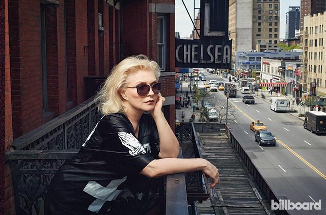 Debbie Harry for Billboard