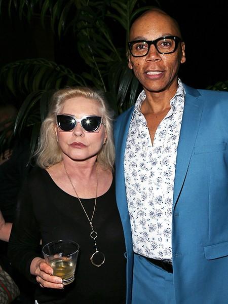 Debbie Harry and RuPaul