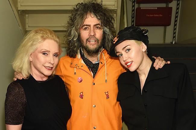 Debbie Harry, Wayne Coyne and Miley Cyrus