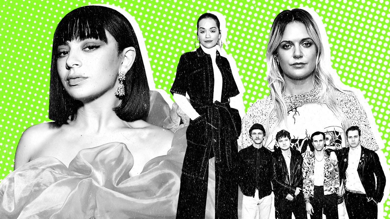 Charli XCX, Rita Ora, Tove Lo and Foster the People