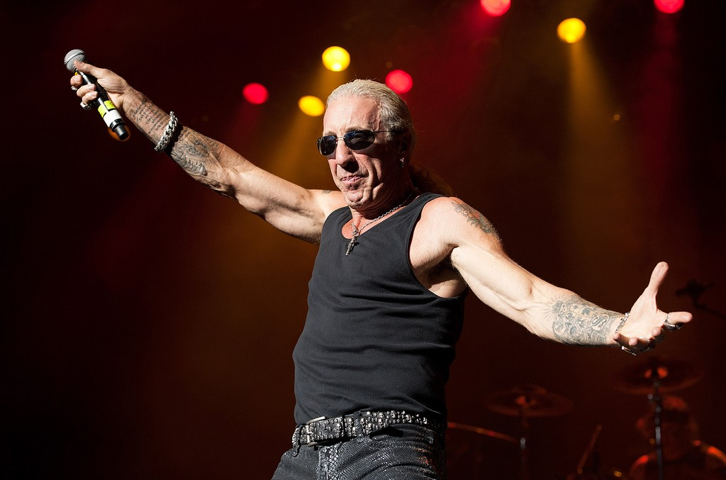 Dee Snider performs in 2015