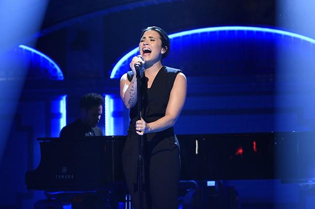 Demi Lovato Saturday Night Live