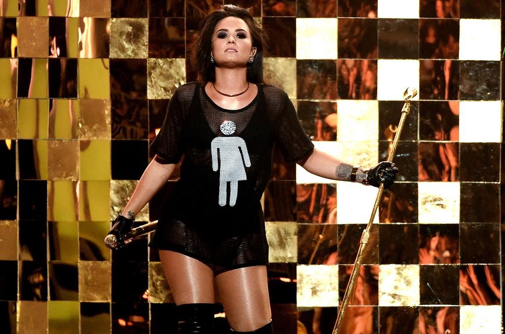 Demi Lovato at the 2016 Billboard Music Awards
