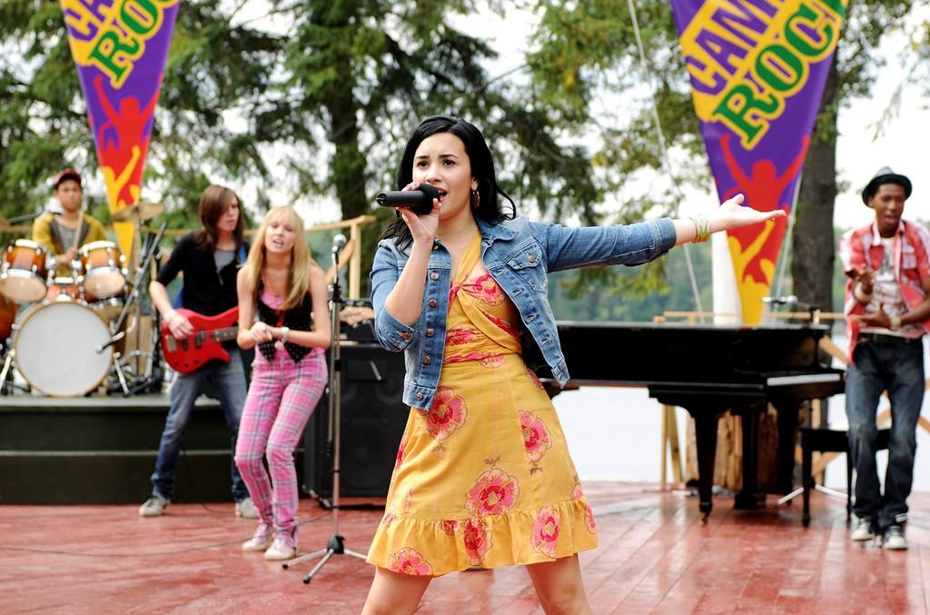 Demi Lovato in Camp Rock