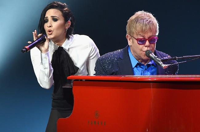 Demi Lovato Elton John