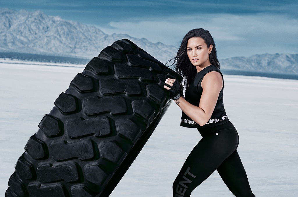 Demi Lovato x Fabletics Collaboration