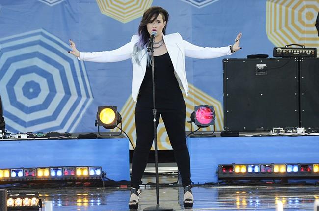 Demi Lovato on GMA