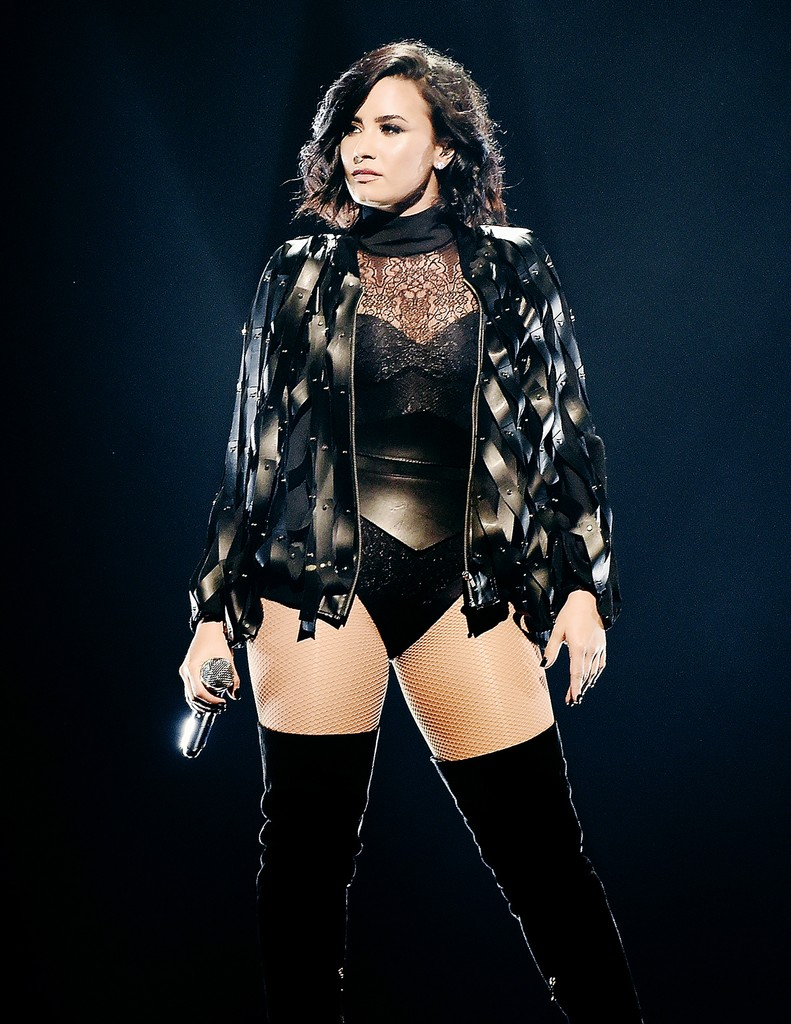 Demi Lovato performs during the '2016 Honda Civic Tour Featuring Demi Lovato & Nick Jonas: Future Now' tour at the Barclays Center on July 8, 2016 in New York City.
