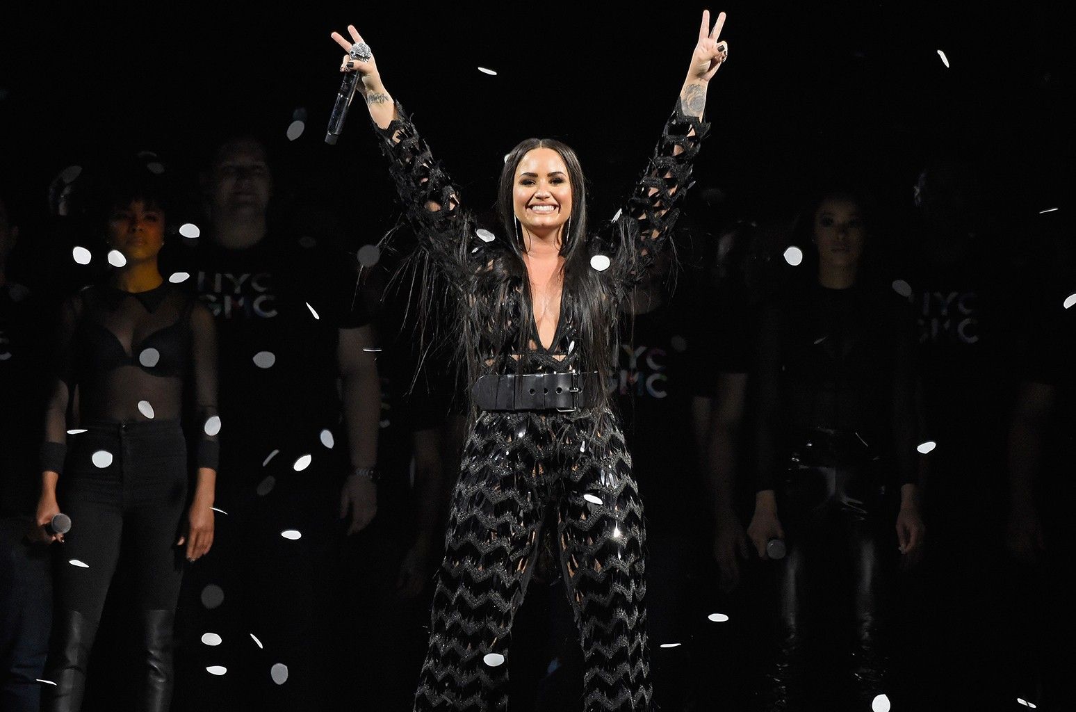 Demi Lovato S Tell Me You Love Me World Tour Earns 20 Million In Opening Run Billboard Billboard