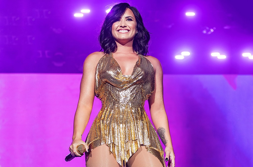 Demi Lovato performs onstage during BeautyKind Unites: Concert for Causes at AT&T Stadium on March 25, 2017 in Arlington, Texas.