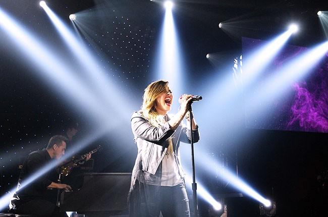 Demi Lovato Performs on April 14, 2014