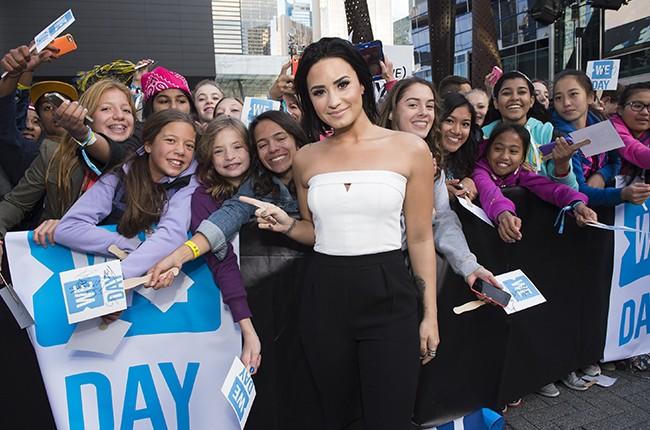 Demi Lovato at We Day