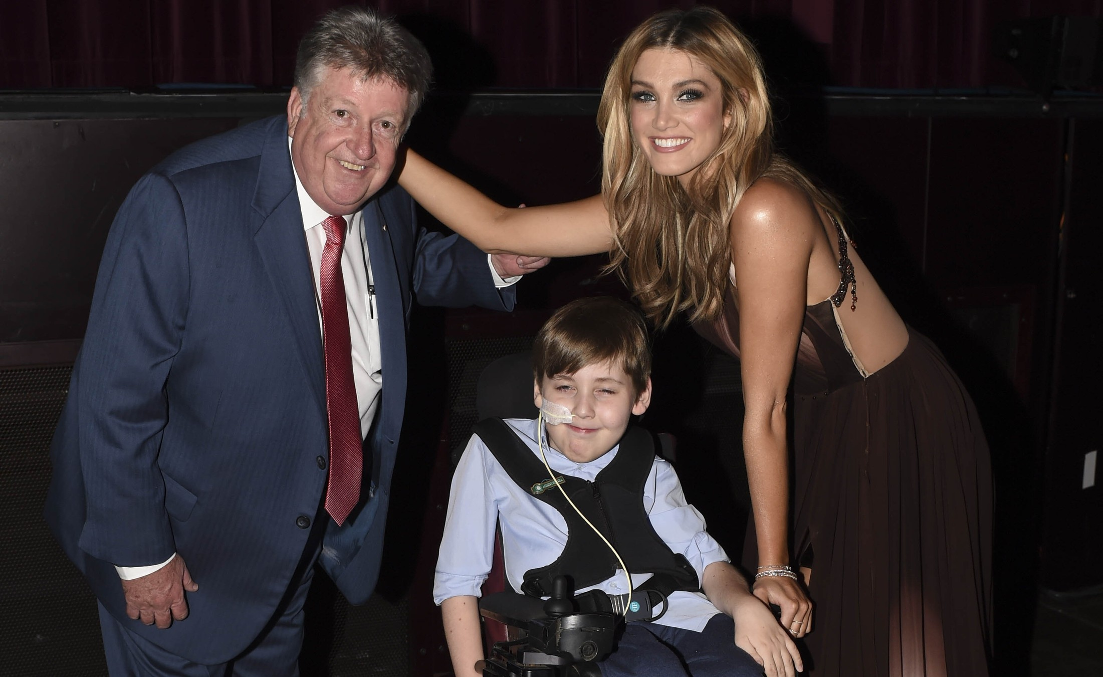 Denis Handlin, Jack De Rooy Harris and Delta Goodrem