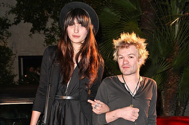 Sum 41's Deryck Whibley and Ariana Cooper