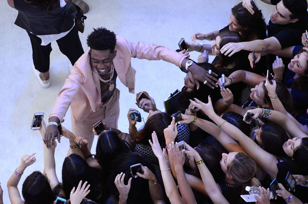 Desiigner on the red carpet during the 2016 MTV Video Music Awards