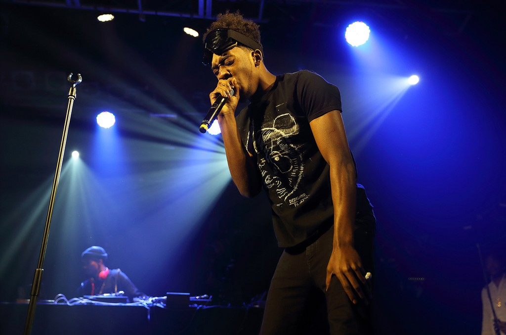 Desiigner performs at the Electric Ballroom on Nov. 18, 2016 in London.