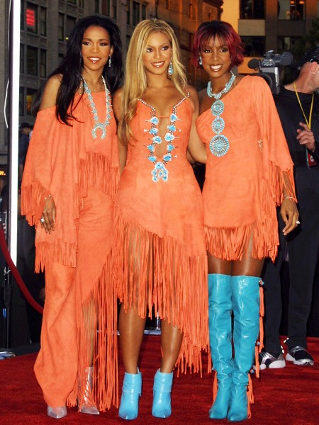 Destiny's Child during 2001 MTV Video Music Awards