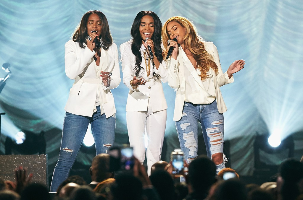 Destiny's Child perform at the Orleans Arena