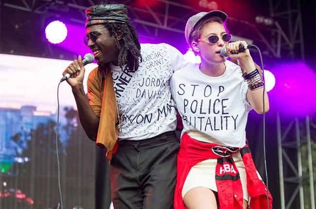 Blood Orange perform at Lollapalooza 2014