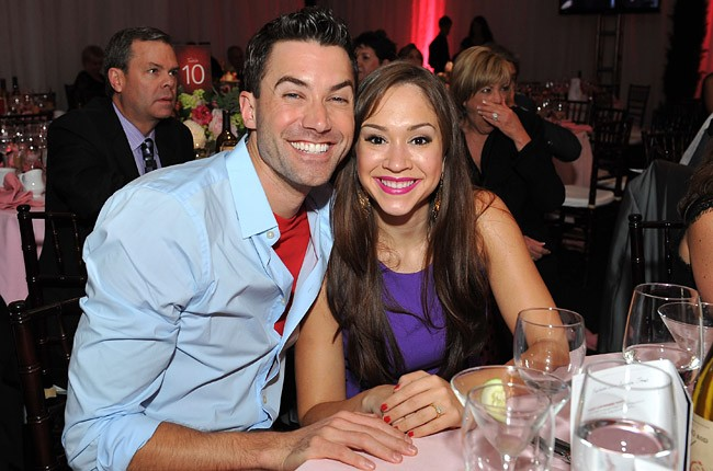 Ace Young and Diana DeGarmo