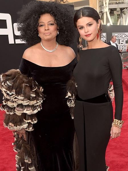 Diana Ross and Selena Gomez