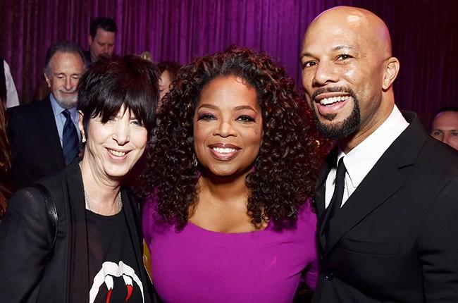 Diane Warren, Oprah Winfrey, and Common