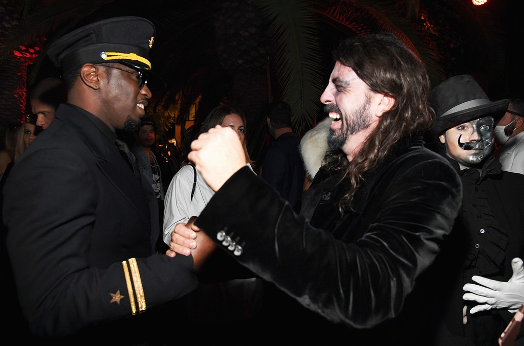 Diddy and Dave Grohl