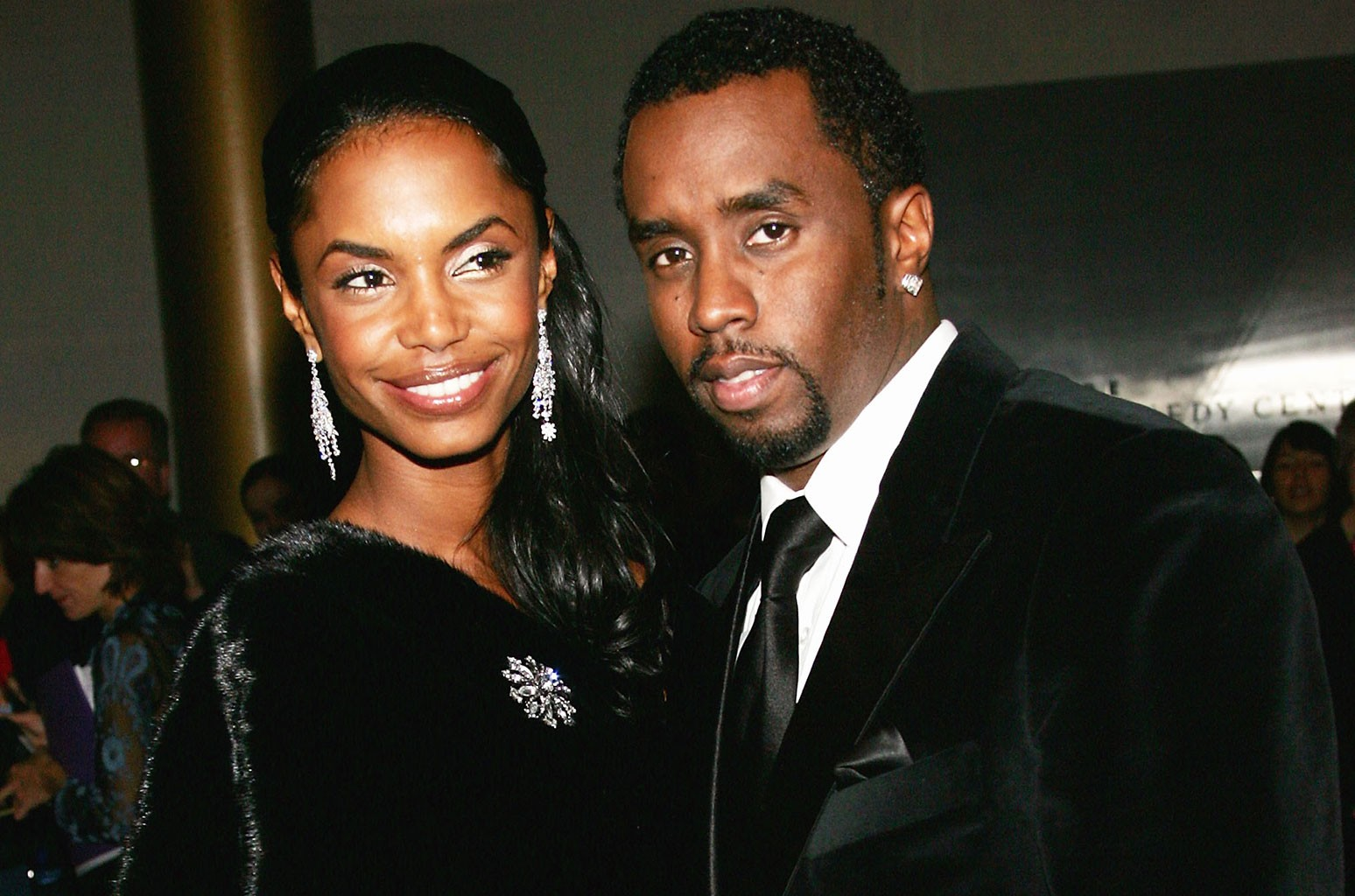 """Sean """"P. Diddy"""" Combs and Kim Porter"""