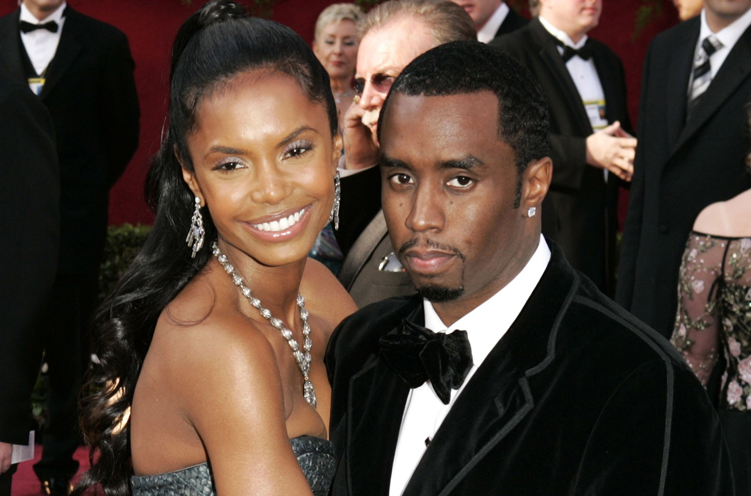 Kim Porter and Sean 'P. Diddy' Combs