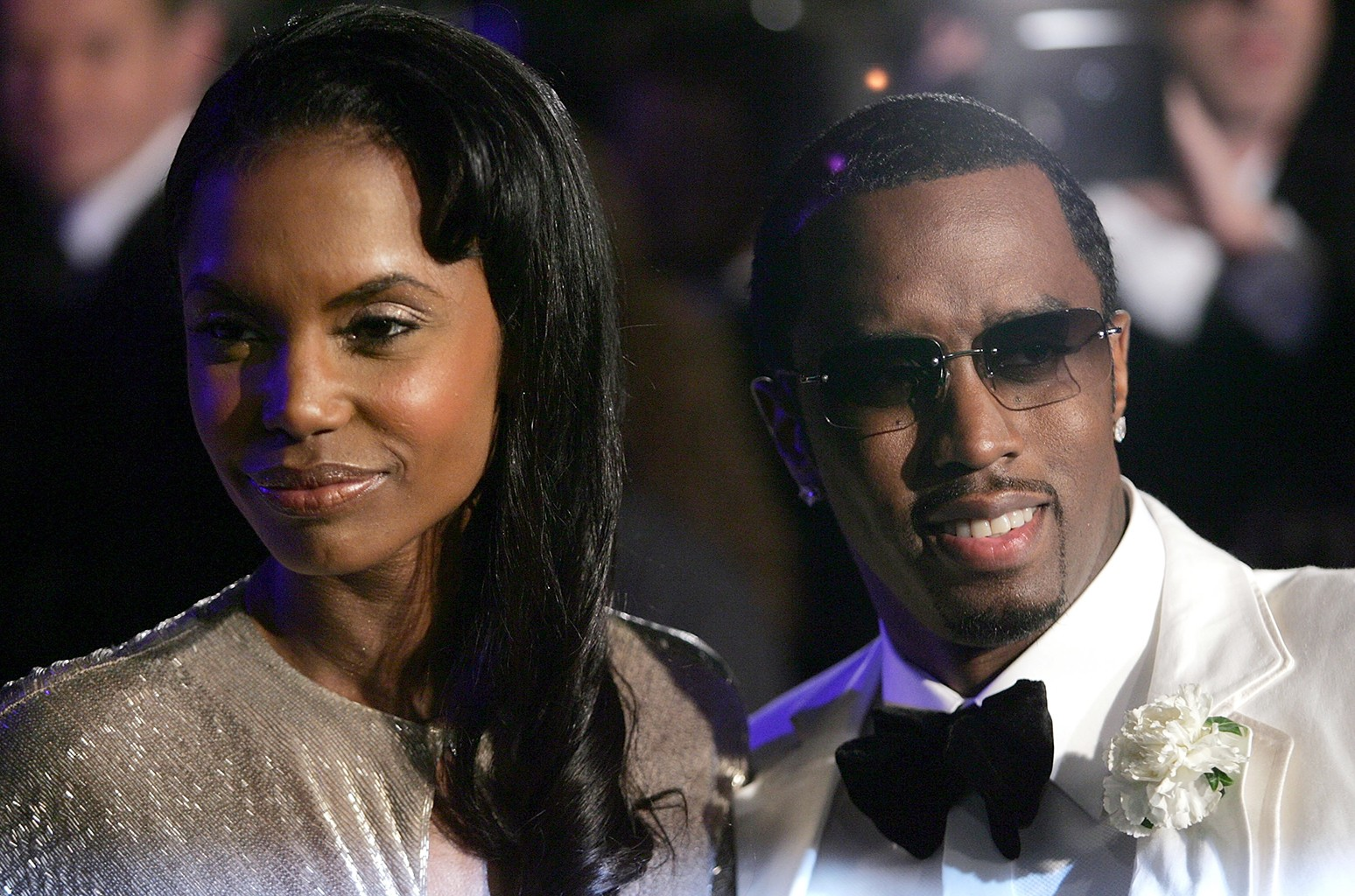 Kim Porter and Sean 'P Diddy' Combs