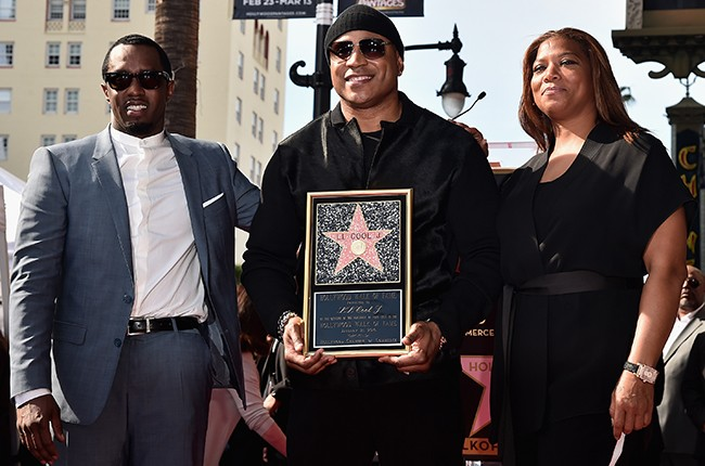 """Sean """"Diddy"""" Combs, LL Cool J and Queen Latifah"""