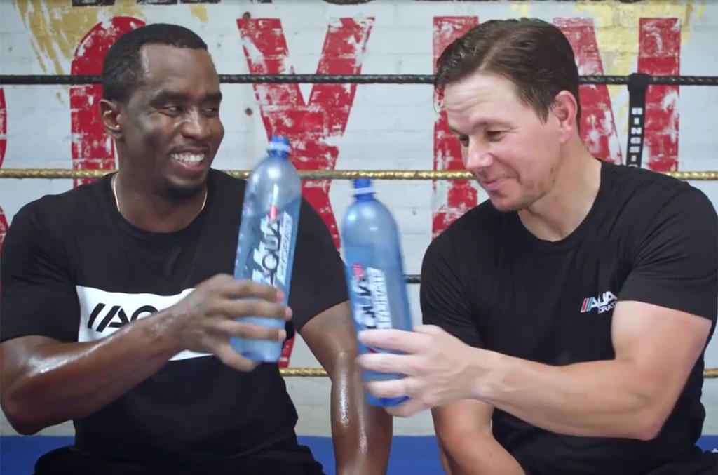 Sean Diddy Combs and Mark Wahlberg