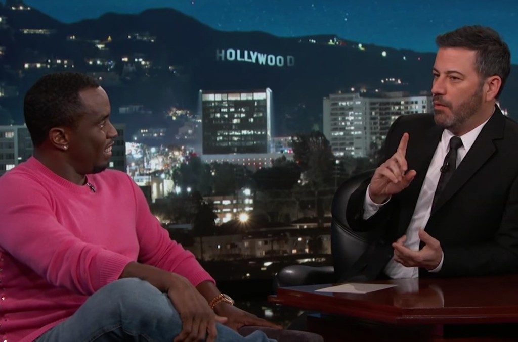 Sean Diddy Combs on Jimmy Kimmel Live!