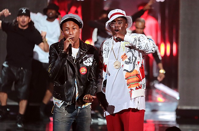 Pharrell William and Diddy