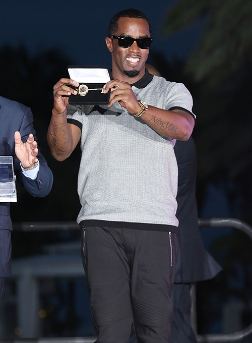 """Sean """"Diddy"""" Combs attends 2015 REVOLT Music Conference Welcome Ceremony"""