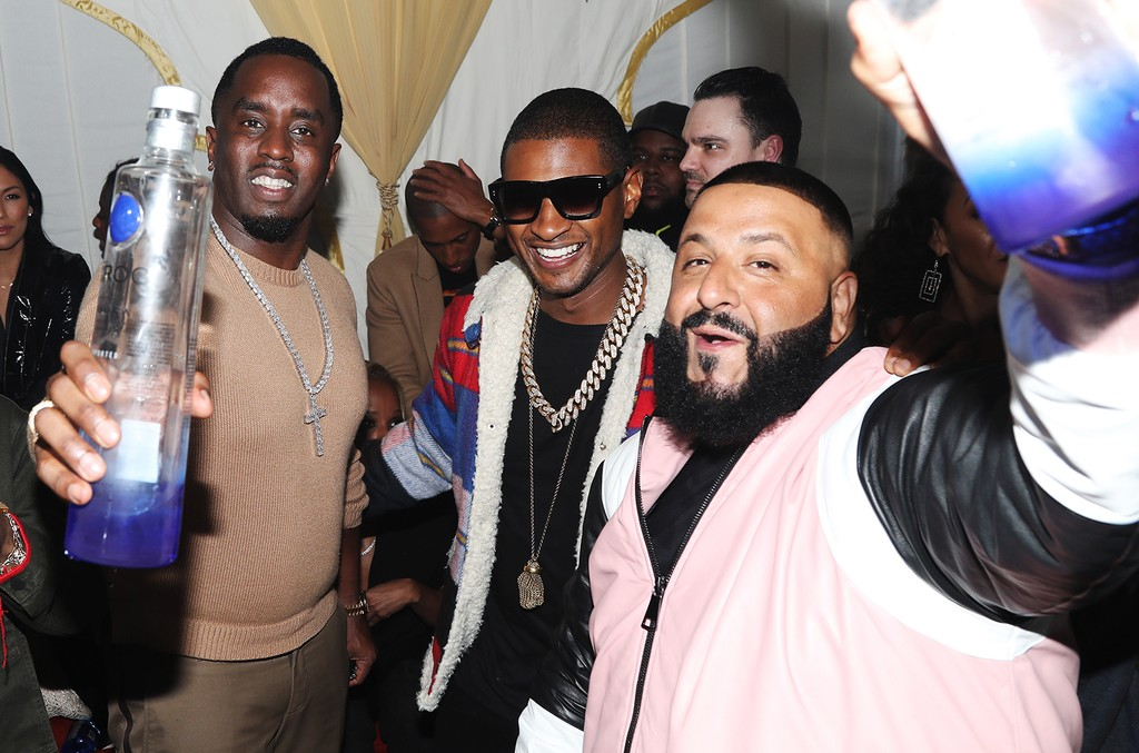Sean 'Diddy' Combs, Usher & DJ Khaled , 2017