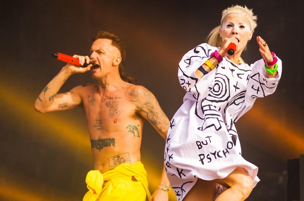 Die Antwoord perform in 2015