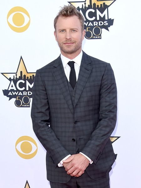Dierks Bentley attends the 50th Academy Of Country Music Awards