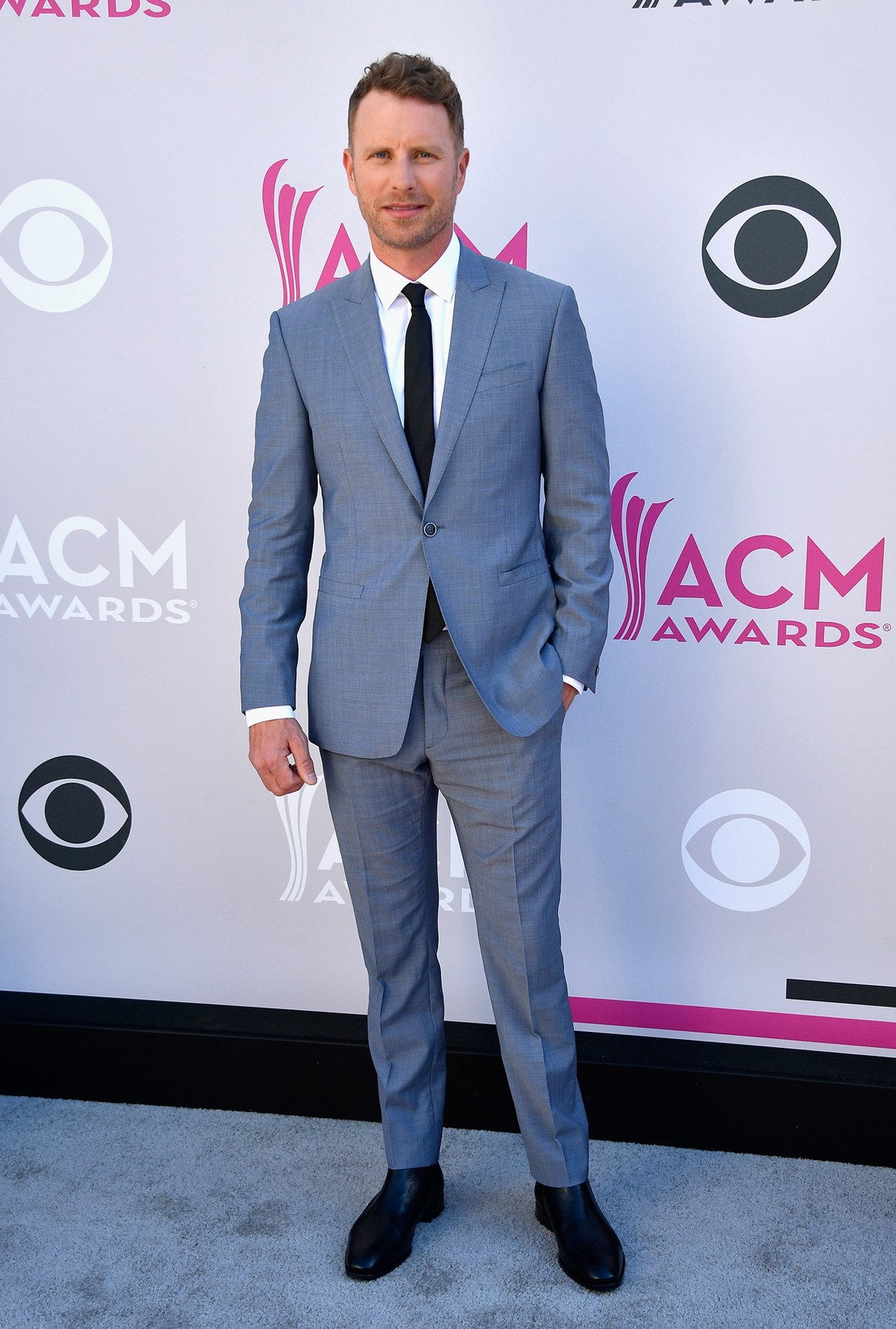 Dierks Bentley attends the 52nd Academy Of Country Music Awards at Toshiba Plaza on April 2, 2017 in Las Vegas.