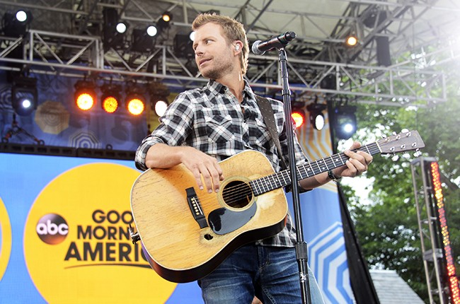 Dierks Bentley performs as part of the GMA Summer Concert Series live from Central Park, on Good Morning America on June 26, 2015.