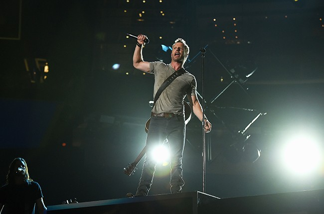 Dierks Bentley performs onstage during the 50th Academy Of Country Music Awards