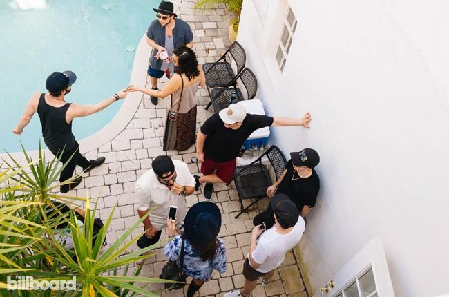 steve aoki party at dim mak house -- miami -- ultra 2015