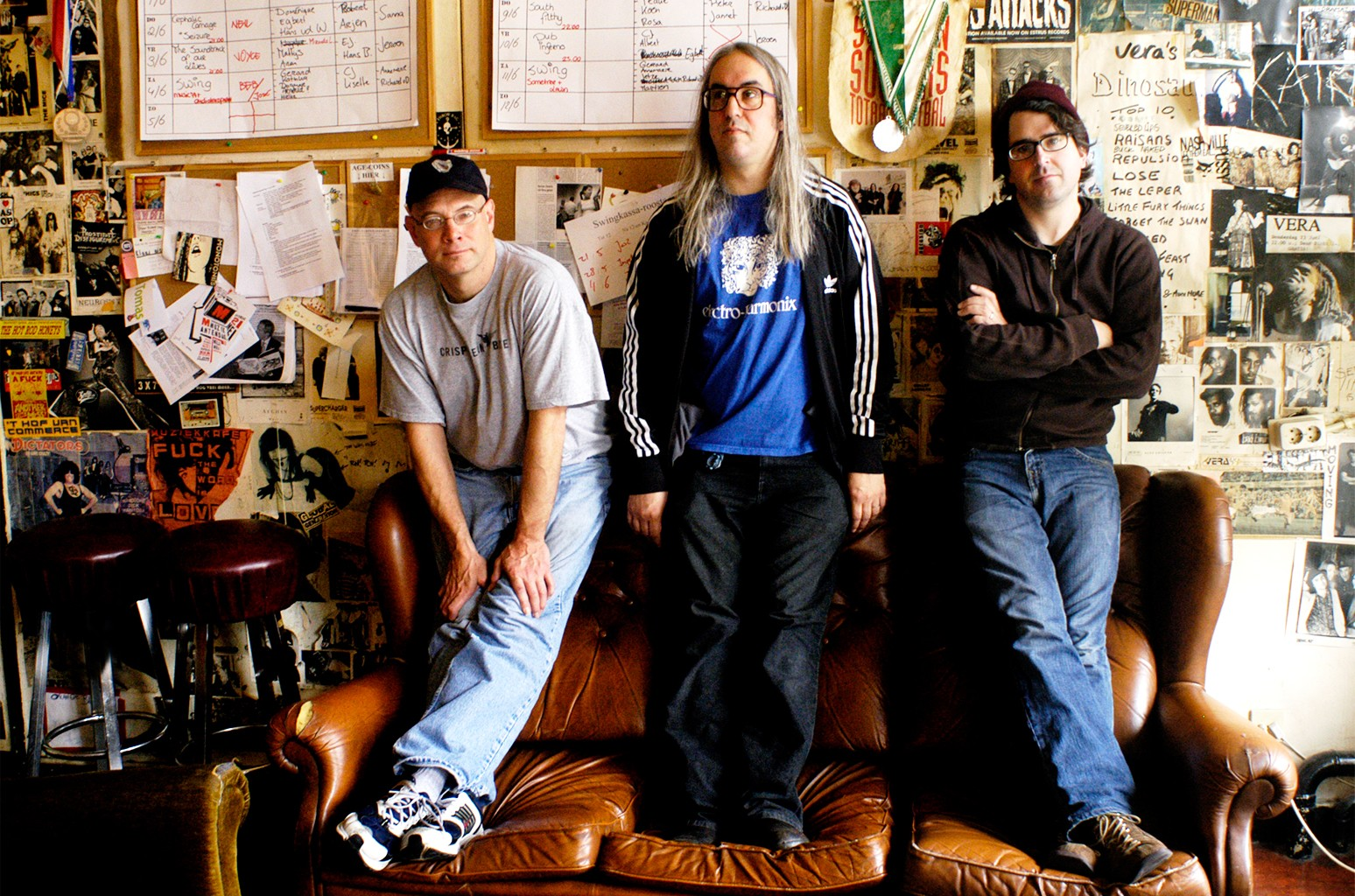 Dinosaur Jr photographed in 2005.