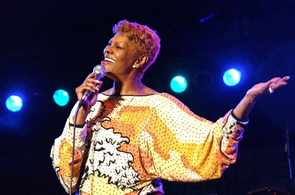 Dionne Warwick performs at the Air Jamaica Jazz and Blues Festival in Montego Bay, Jamaica on Jan. 29, 2005.