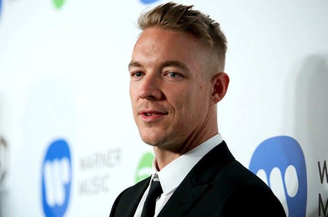Diplo attends the Warner Music Group annual Grammy celebration
