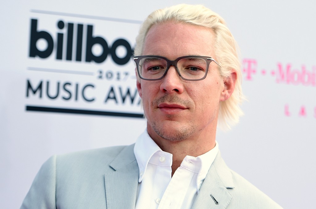 Diplo arrives at the Billboard Music Awards at the T-Mobile Arena on May 21, 2017 in Las Vegas.