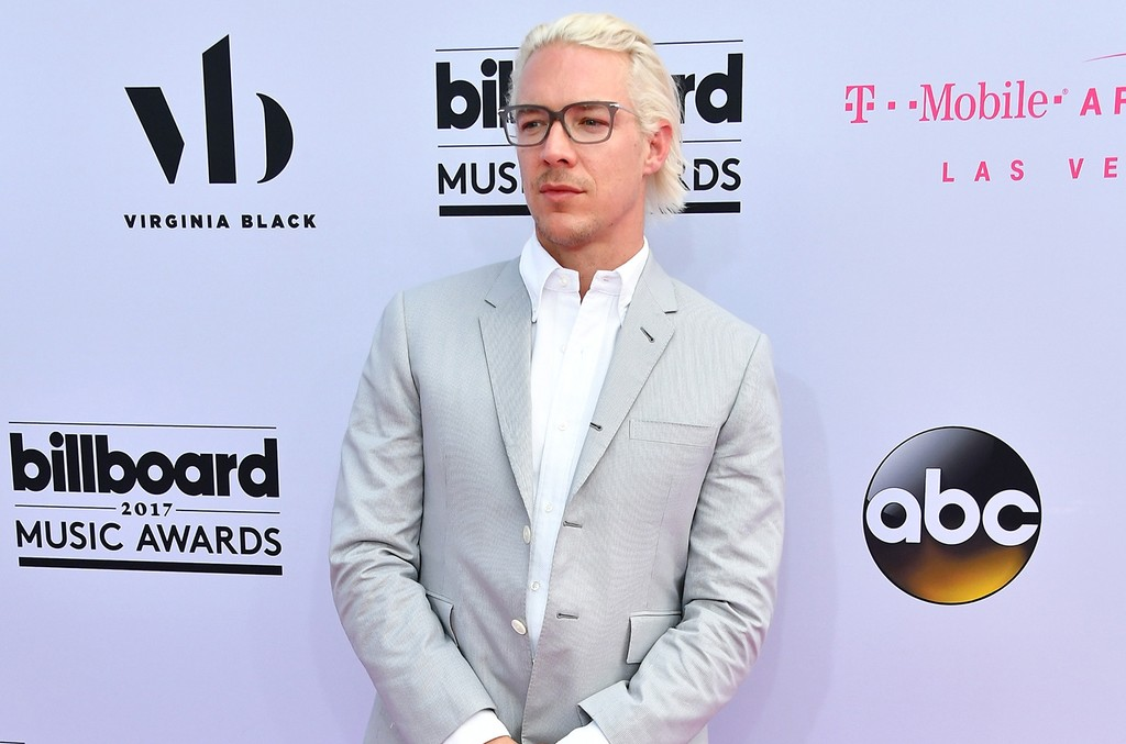 Diplo attends the 2017 Billboard Music Awards at T-Mobile Arena on May 21, 2017 in Las Vegas.