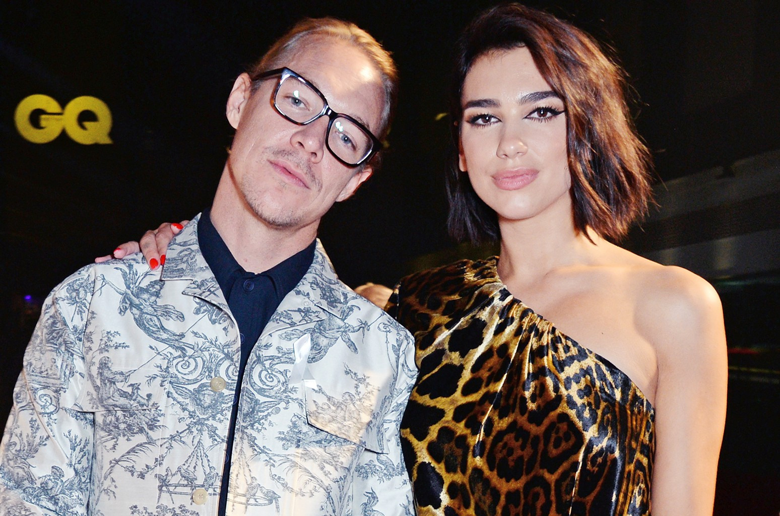 Diplo and Dua Lipa