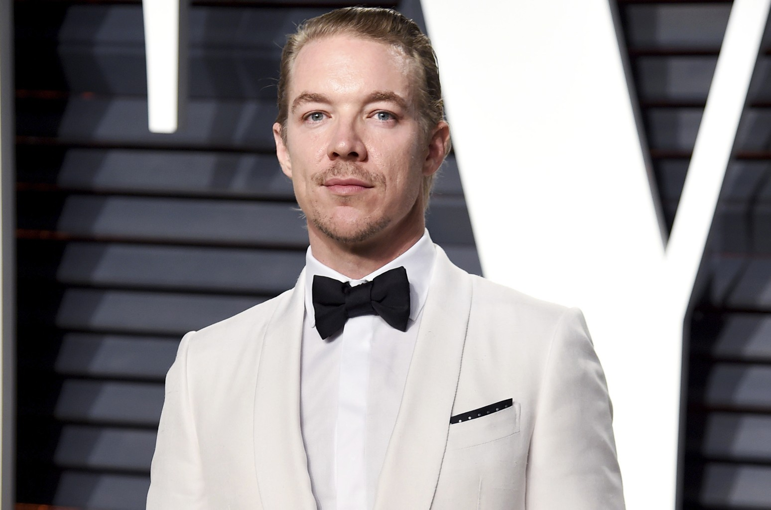 Diplo arrives at the Vanity Fair Oscar Party on Feb. 26, 2017 in Beverly Hills, Calif.