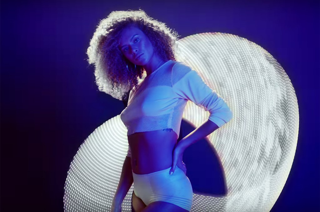 A scene from the video for Waist Time by Diplo and Autoerotique.